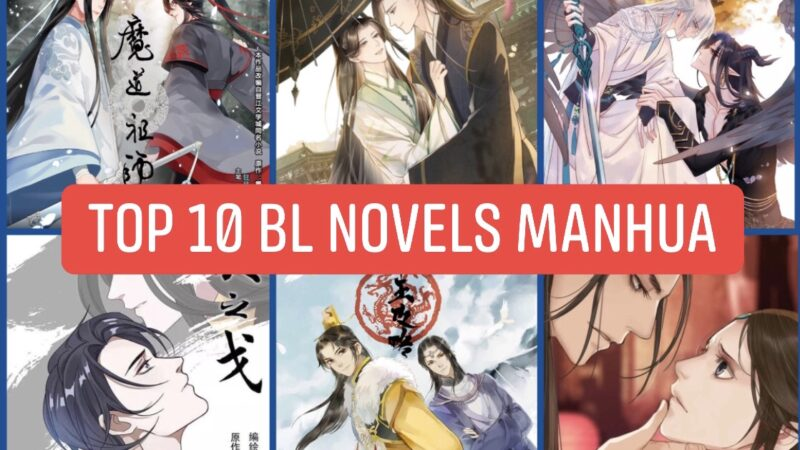 Top 10 Chinese BL Novels with Manhua